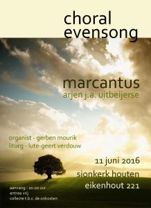 20160611 - choral evensong